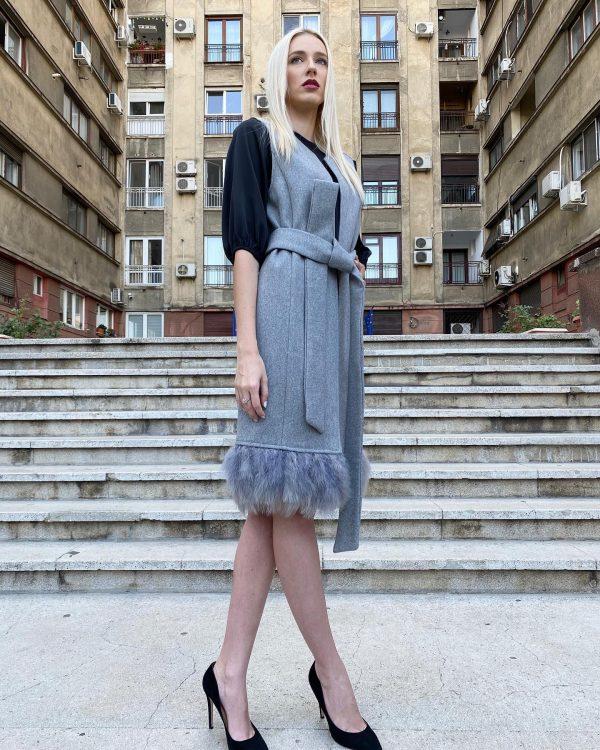 vesta lana femei